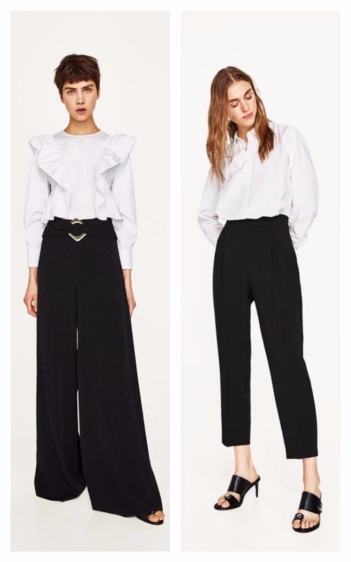 Pantaloni cu talie înaltă