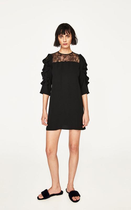 Rochie mini neagră