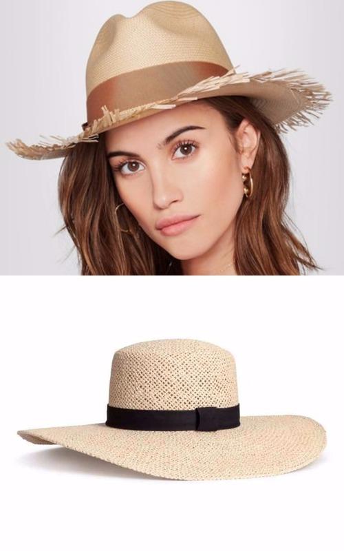 Pălării de plajă cu bor lat