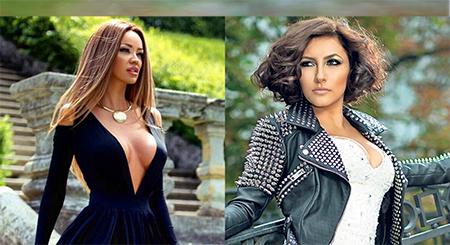 SURPRIZĂ! ANDRA și BIANCA DRĂGUȘANU s-au afișat îmbrăcate identic! Nu te-ai fi așteptat niciodată să le vezi AȘA! Au ales o haină care costă sub 200 de lei, la reduceri: