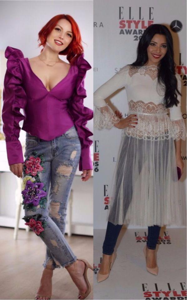 Jeanși în ținute elegante? Află de la vedete care sunt cele mai în trend combinații!