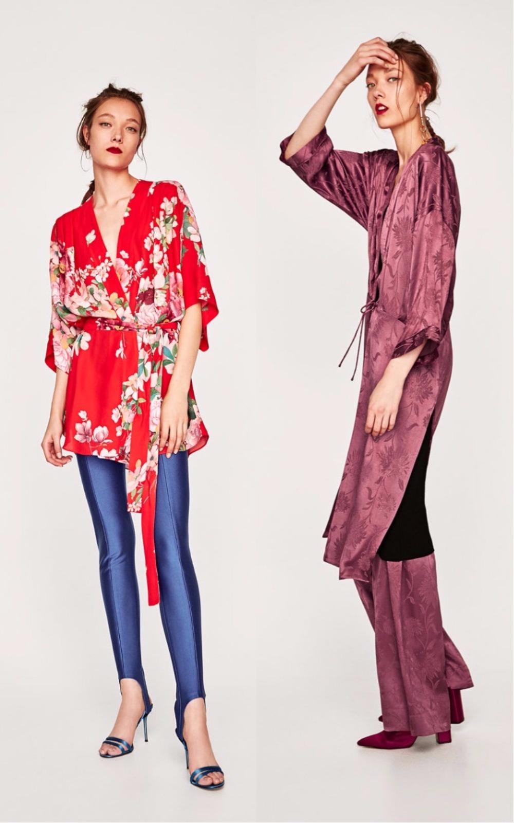 Kimono satinat