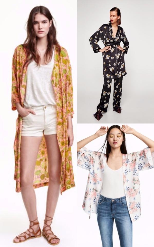 Kimonouri casual chic