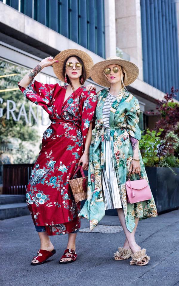 Kimonourile alese de Fabuloasele Diana Enciu și Alina Tanasă