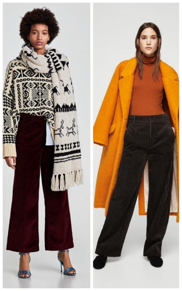 Pantalonii raiați revin în tendințe! Iată cum îi poți purta!