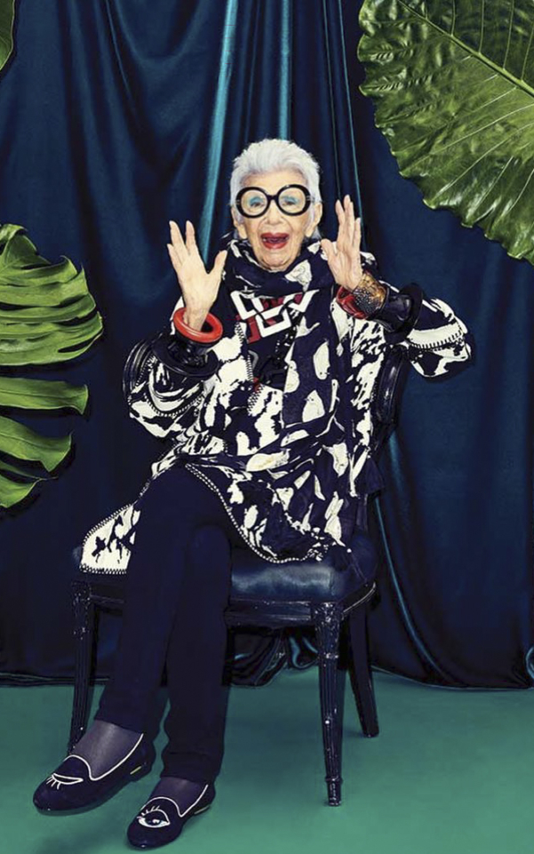 Iris Apfel, fashion icon-ul de 96 de ani care te va cuceri