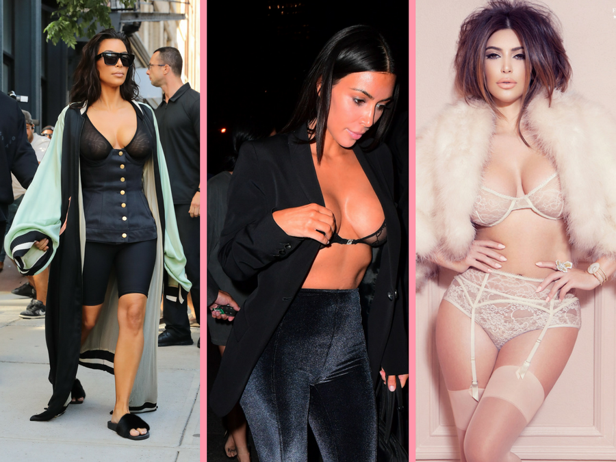 Kim Kardashian va lansa o colecție de lenjerie - dantelă all the way?