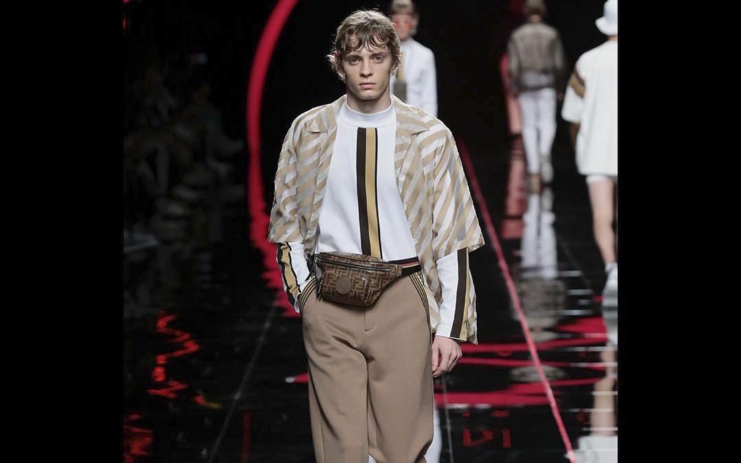 Anagramele, noua tendință în fashion lansată de Fendi la Milan Fashion Week