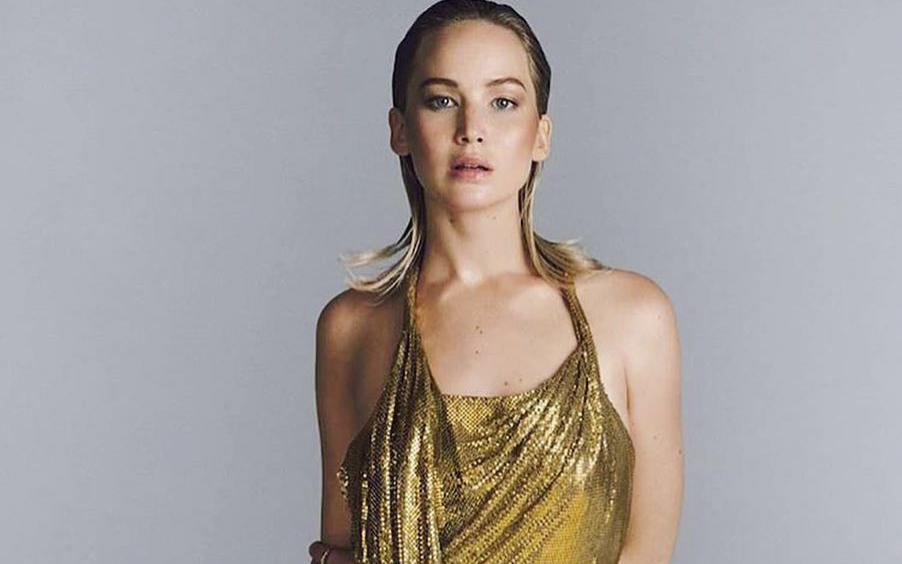 Jennifer Lawrence, imaginea noului parfum Dior